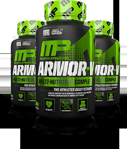 MusclePharm Armor-V Bottle