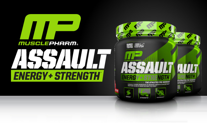 Muscle Pharm Chest Back Workout Home