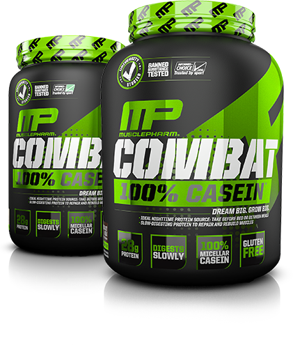 MusclePharm Combat 100% Casein Tubs