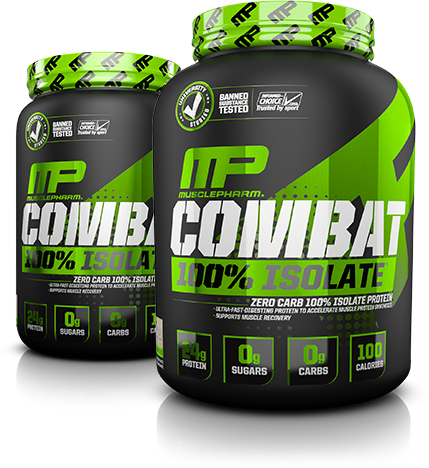 Muscle Pharm Combat Protein Powder, 5-pounds 5 Different Sources of Protein 25 Grams of Protein Gluten-Free Available in Cookies & Cream & Chocolate/5().