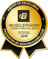 2016 Protein Bar of the Year.