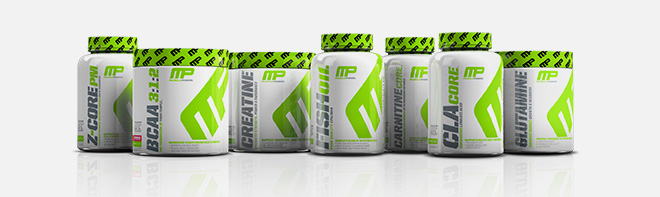 Musclepharm product lineup