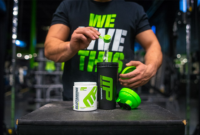 MusclePharm. We Live This.
