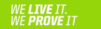 We Live It. We Prove It.