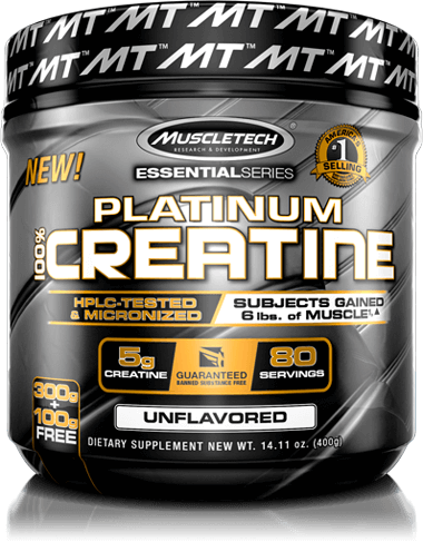 Platinum Creatine Container