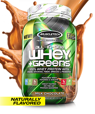 MuscleTech All-In-One Whey + Greens