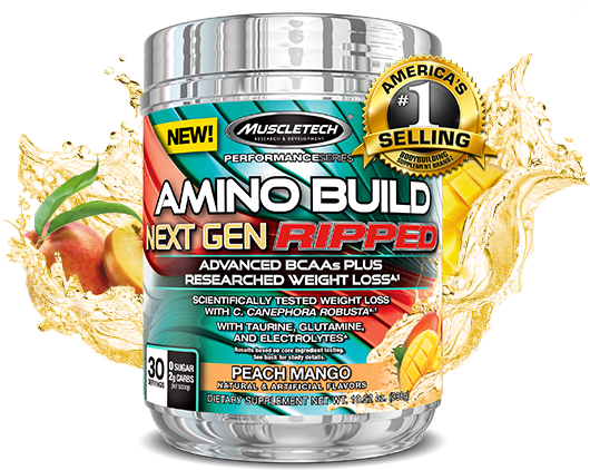 Amino Build Bottle