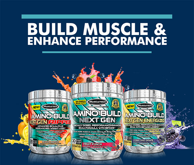 Build Muscle & Enhance Performance