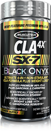 MuscleTech Ultra Carnitine 3x SX-7 Black Onyx