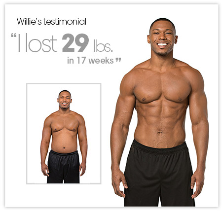 Willie's Testimonial. I love 29 pounds in 17 weeks!
