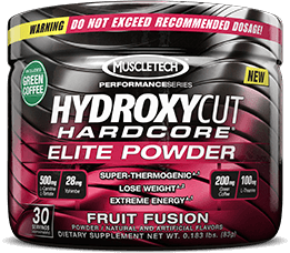 Hydroxycut Hardcore Elite Powder