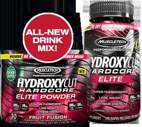 Hydroxycut Hardcore Elite by MuscleTech at Bodybuilding ...