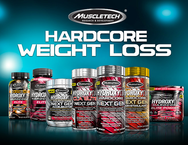 MuscleTech Hydroxycut Next Gen. Hardcore Weight Loss.