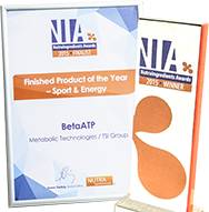 Sport and Energy Finished Product of the Year at the 2015 NutraIngredients Awards.