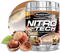 Caramel flavored nitro tech