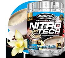 Caramel flavored nitro tech