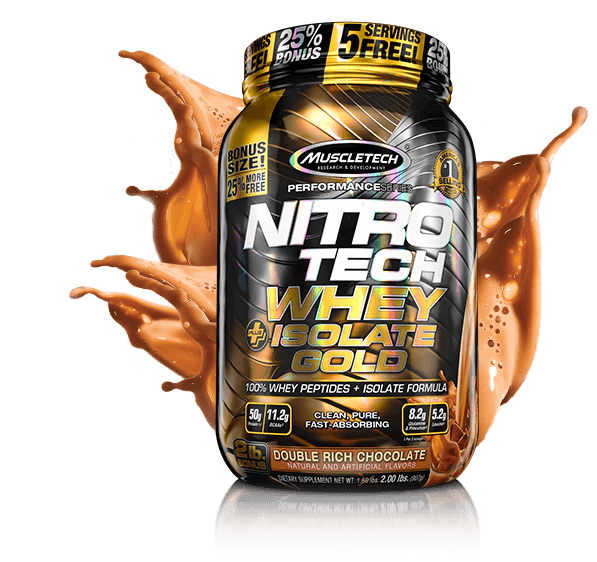 NITRO-TECH Whey Isolate Gold