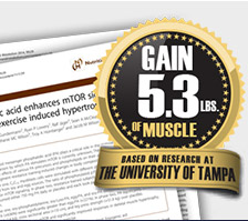 Gain 5.3lbs of Muscle*