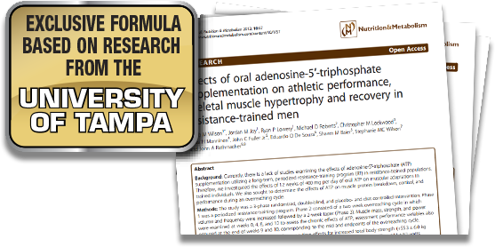 Exclusive Formula Based on Research from the University of Tampa