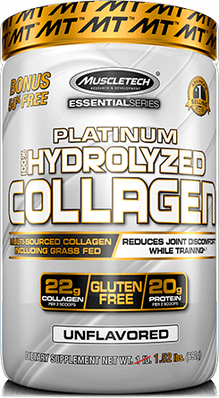 Platinum 100% Hydrolyzed Collagen Container