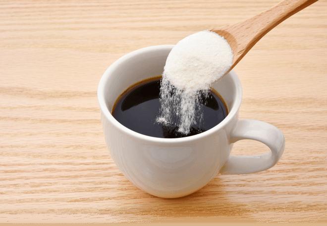 Adding Powder To Drink