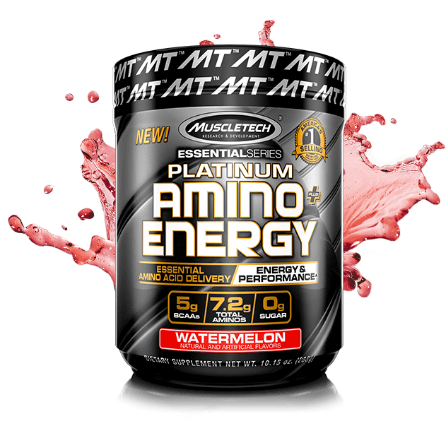 Platinum Amino + Energy Container