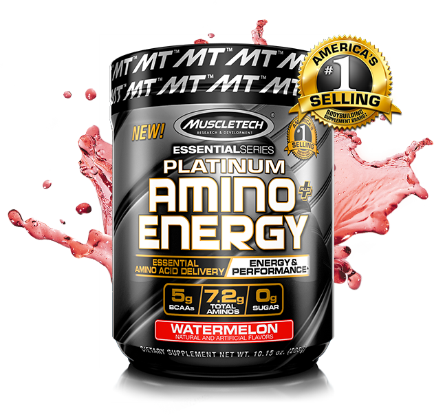 MuscleTech Platinum Amino Energy Container