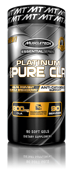 Platinum Pure CLA Bottle