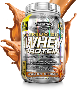 MuscleTech Premium 100% Gold Whey Protein