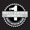 #1 Most Award Winning Brand.