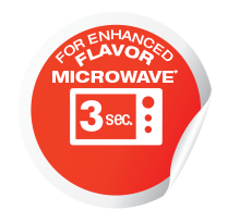 For enchanced flavor - microwave