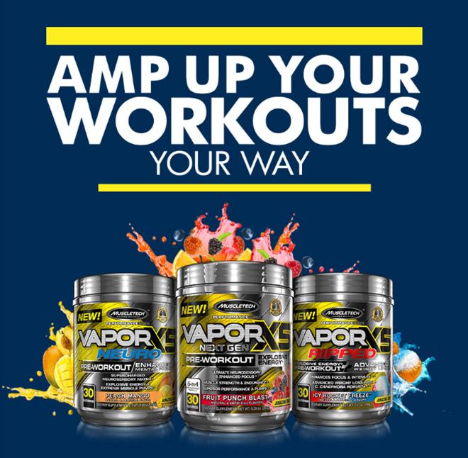 Amplificar seus exercícios Your Way