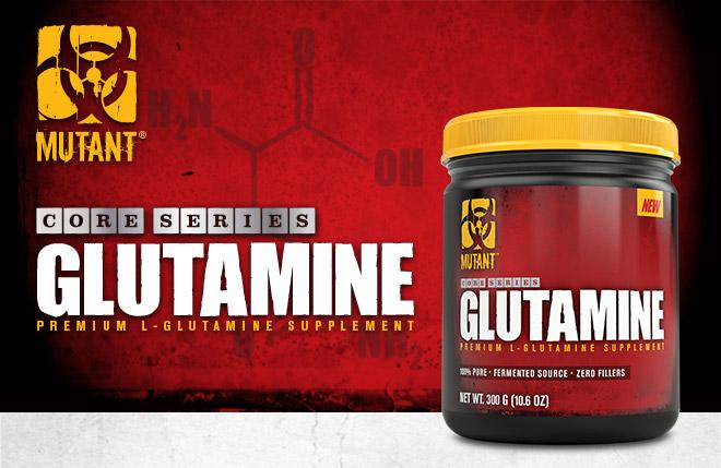 Mutant Core Series Glutamine. Premium L-Glutamine Supplement.
