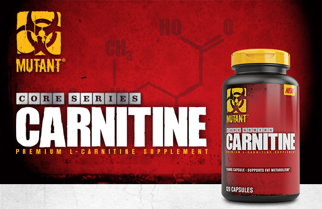 Mutant Core Series Carnitine. Premium L-Carnitine Supplement.