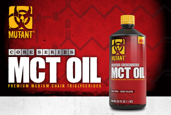 Mutant Core Series MCT Oil. Premium Medium Chain Triglycerides Supplement.