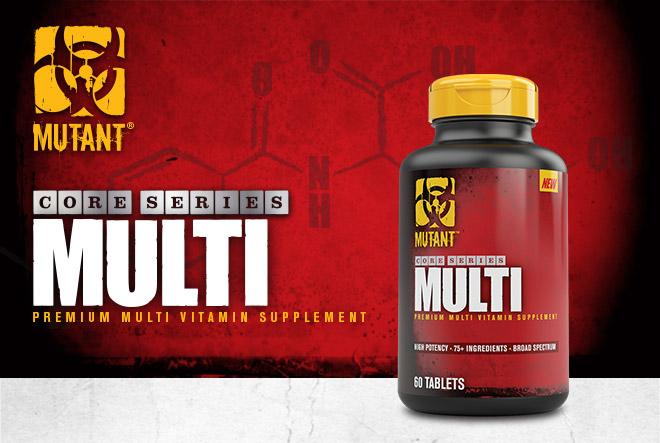 Mutant Core Series Multi. Premium Multivitamin Supplement.