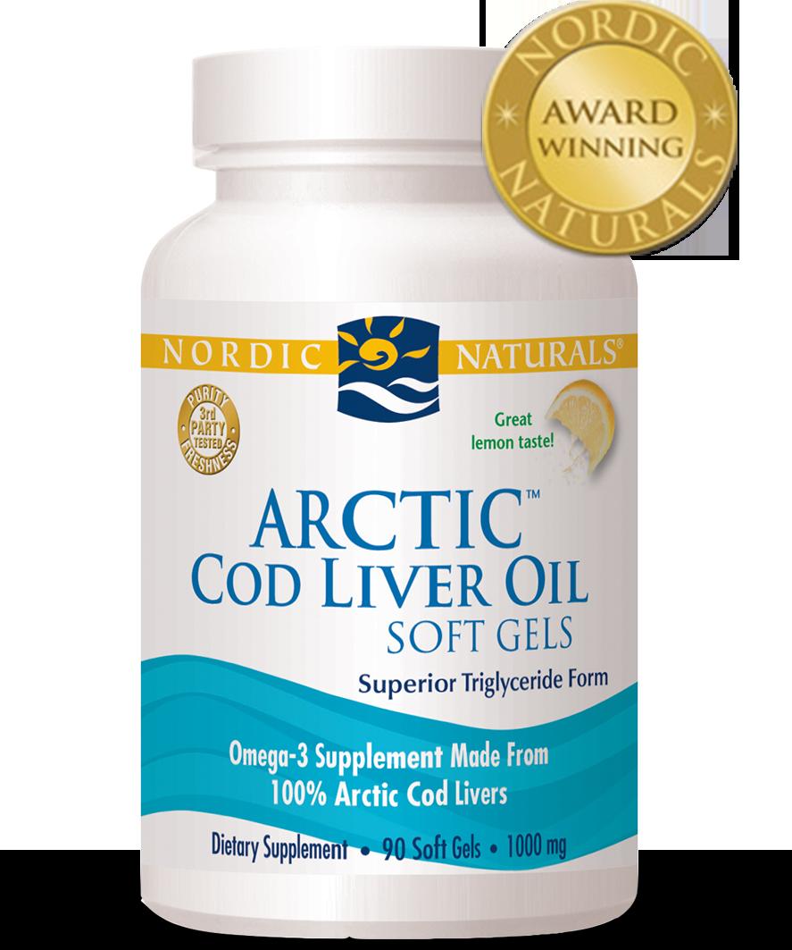 Nordic naturals arctic cod liver oil at for Fish oil for bodybuilding