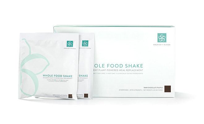 Nourish + Bloom Whole Food Shake
