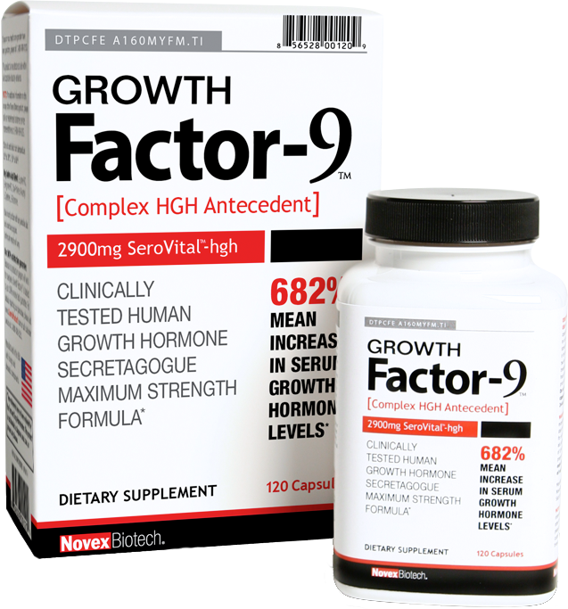 Growth Factor-9 by Novex Biotech at Bodybuilding.com