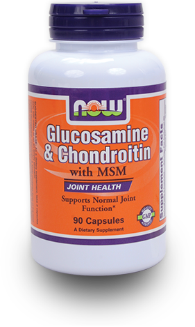 NOW Glucosamine & Chondroitin with MSM at Bodybuilding.com