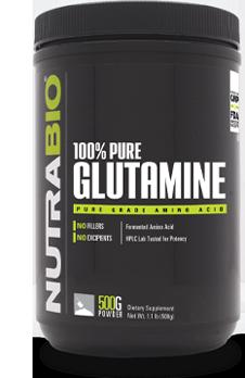 NutraBio 100% Pure Glutamine