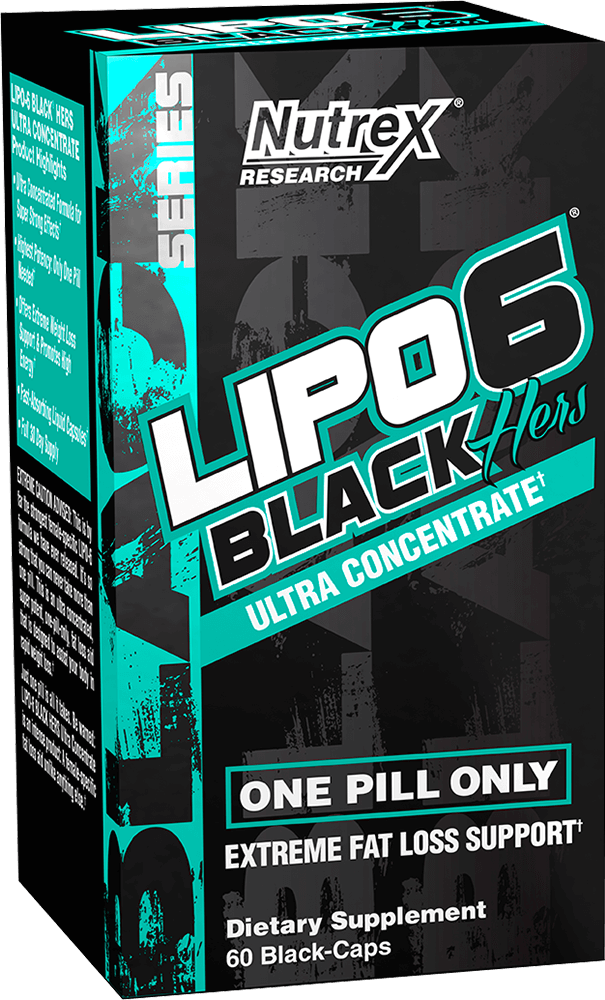 Lipo 6 Black Hers Ultra Concentrate By Nutrex At