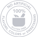 No artifical flavors, colors or sweetners