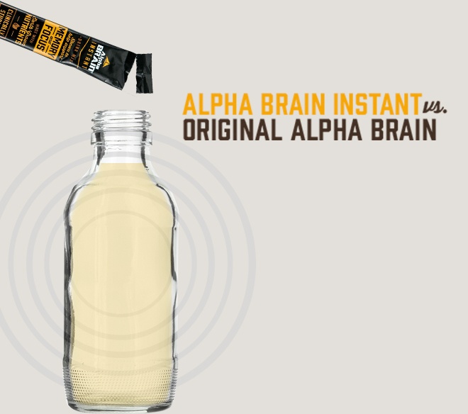 Onnit Alpha Brain Instant At Bodybuilding Com Best Prices On Alpha