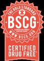 BSCG Certified Drug-Free.