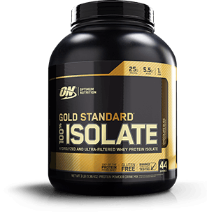 Gold Standard 100% Isolate Container