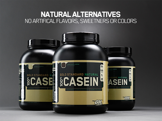NATURAL ALTERNATIVES. NO ARTIFICIAL FLAVORS, SWEETENERS OR COLORS