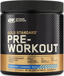 Optimum Nutrition Gold Standard Pre-Workout bottle