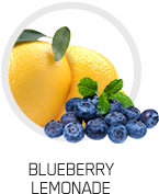 picture of lemons and blueberries together