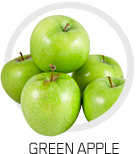 picture of greens apples together